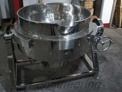 QJG Stainless Steel Jacket Pot