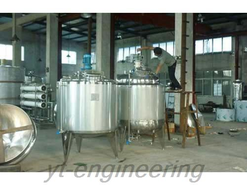 Heating And Cooling Jacket Tank Jacketed Tank